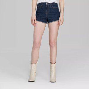 Wild Fable Denim High Rise Cut Off Shorts 12